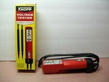 Knopp Voltage Tester K60 New In Box w/ Instructions Nos