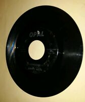 Rare Bopper 45 rpm Danny Mote - Lonesome / Done You Wrong (Opal records, 001)