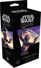 Fantasy Flight Games, Star Wars Legion Sabine Wren Operative Expansion New