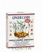 (20,07€/1kg) [ 12x 56g ] SINA GINGER CANDY / Ingwerbonbons / Ingwer Bonbons