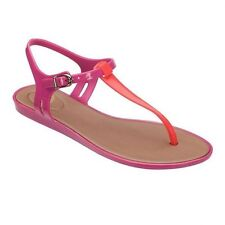 Women's Multi-Coloured Rubber Sandals and Beach Shoes