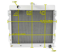 "1970 1971 1972 Plymouth Valiant 3 Row Radiator, 22"" Wide Core Small Block AR"