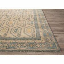 Southwest Area Rug 100% Wool Handmade Hand Tufted 8x10 Beige Teal