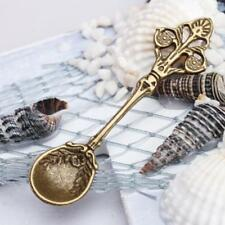 10 x spoon charms pendants beads Bronze tone jewelry making antique craft