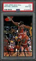 ⭐MICHAEL JORDAN 1998 U/D M.J.X. 💥PSA10💥L@@K SUPER CARD HIGH POTENTIAL🌋🌋