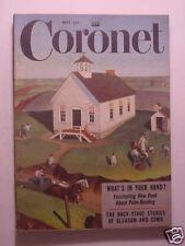 CORONET May 1953 CBS STUDIO ONE Eskimos JACKIE GLEASON PERRY COMO BULLFIGHTING +