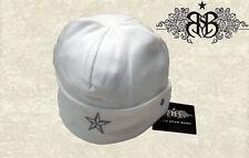 RSB blancos niños gorro estrella de rock bebé Jersey gorro nuevo 2-4j m. steckerei 01-06/b8