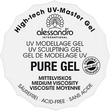 Alessandro pure High Tech UV mastergel, viscosità 15g-crogiolo (01-911)