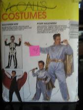 McCall's 7282 Men's Elvis, Crusader, Skeleton & Vampire Costume Pattern-Size Sm