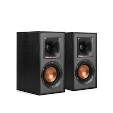 Klipsch R-41M Reference Bookshelf Speakers - Pair (Black Wood Vinyl)