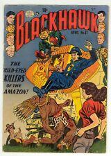 Blackhawk (1944) #51 1st Print Reed Crandall Cov Bill Ward Paul Gustavson GD/VG