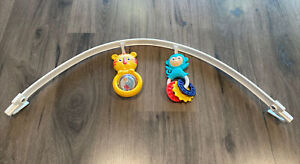 Fisher Price Infant to Toddler Rocker Toy Bar Replacement Parts Tiger Monkey