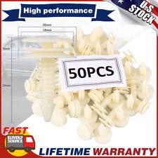50Pcs Plastic Door Trim Panel Retainer Car Fasteners Clips For Chevrolet Gmc S10