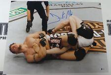Frank Mir Signed 16x20 Photo BAS Beckett COA UFC 81 Brock Lesnar Submission 2008