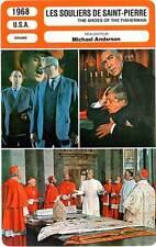FICHE CINEMA : LES SOULIERS DE SAINT PIERRE - Quinn,Olivier,Anderson 1968