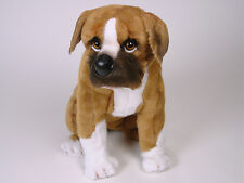 Boxer Puppy by Piutre, Hand Made in Italy, Plush Stuffed Animal NWT