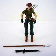 GI JOE LADY JAYE 25th Anniversary Action Figure 99% COMPLETE C9 V8 2009