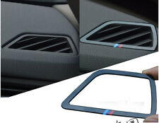 1set/2pcs car air-condition outlet sticker FOR new BMW five 5 series LI F10 F18