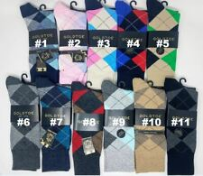 GOLD TOE Men's Argyle Crew Dress Socks, 10-13, $9.50 each