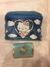 Sanrio Vintage Hello Kitty Angel Plush Trinkets Vanity Bandaid Case