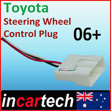 Toyota Steering Wheel Audio Radio Controls Wire Harness Plug Adaptor Adapter
