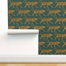 Peel-and-Stick Removable Wallpaper Leopards Leopard Cheetah Cat Wild Cat Jungle