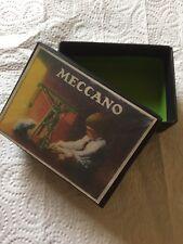 Black Reproduction Meccano  Parts Box  From 1920s 1930s Era