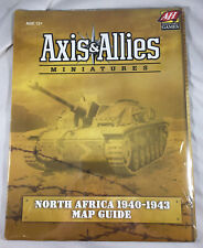 NEW SEALED RARE - AXIS & ALLIES MINIATURES NORTH AFRICA 1940-1943 MAP GUIDE