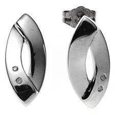 Echtschmuck im Ohrstecker-Stil mit Diamant für Damen Ohrschmuck