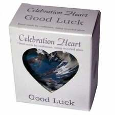 Milford Collection Celebration Heart - Good Luck - CH13