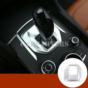 For Alfa Romeo Stelvio Inner Console Gear Shift Box Panel Cover Trim 2017-2019