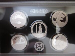 2013 US Mint America The Beautiful ATB Silver Proof Set