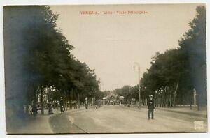 Venezia Lido Italy Vintage Photo Postcard