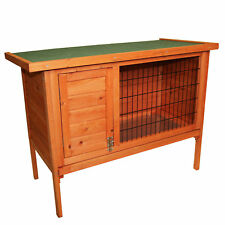 NEW Single Rabbit Guinea Pig Pet Hutch House Shelter 820x390x700mm