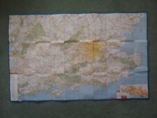 Cleveland/PHILIPS carte as Ordnance Survey SW Angleterre 1969? Lecture Bournemouth