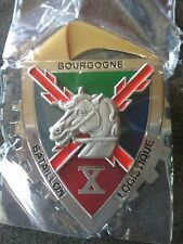 insigne pucelle militairebataillon logistique BATLOG Bourgogne X Barkhane