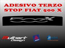 ADESIVO STICKERS PER TERZO STOP FIAT  500 X
