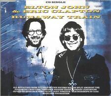 Elton John & Eric Clapton - Runaway Train 1992 CD single