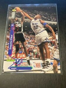 1995-96 Upper Deck Collectors Choice Players Club Platinum Shaquille O'Neal #184