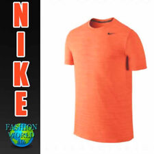 Nike Men's Size Medium Dri-Fit S/S Training Top Orange 848888