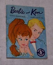 Barbie and Ken, Miniature book, Unpaginated 1962