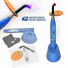 *Sale*Dental 5W Wireless Cordless Led Curing Light Lamp 1500mw Blue *Usa Ship*