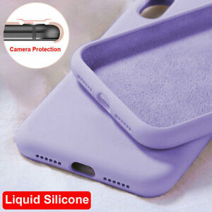 Ultra Thin Liquid Silicone Gel Case Cover for Huawei P10 Mate20 P20 P30 Pro/Lite