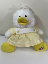 Fisher Price Puffalump White Duck Yellow Sailor Dress 1987 Vintage Stuffed Toy