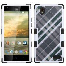 Fundas y carcasas MYBAT de plástico de color principal negro para teléfonos móviles y PDAs