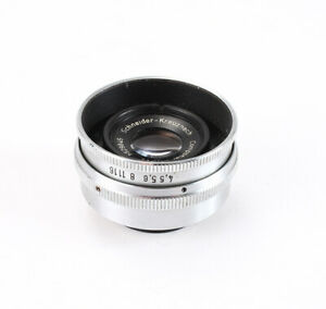 50MM 50/4.5 SCHNEIDER COMPONAR FOR ENLARGING (HAZE, DUST) 25MM/205082