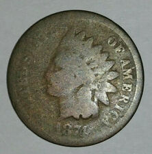 Vintage 1874 Indian Head Wheat Penny