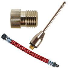 b+d Ventil-Hohlnadel | Hohlnadel-Adapter | Flex-Schlauch | Zubehör für Luftpumpe