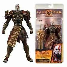"GOD OF WAR-KRATOS IN ARES ARMOR WITH THE BLADE OF OLYMPUS  18 CM - 7"" NECA"