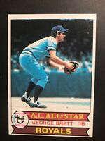 1979 TOPPS BASEBALL KANSAS CITY ROYALS GEORGE BRETT ALL-STAR CARD HOF #330